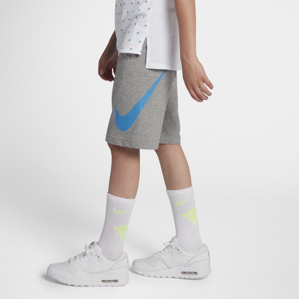セール!<ナイキ(NIKE)公式ストア> ナイキ スポーツウェア ジュニア (ボーイズ) ショートパンツ AJ0163-063 グレー ★30日間返品無料 / Nike+メンバー送料無料