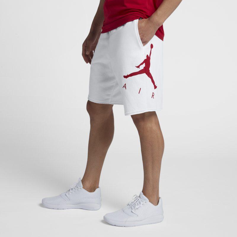 dfd4de0618b Nike Jordan Jumpman Air Men's Fleece Shorts - White | AJ0807-100 ...