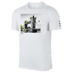 Мужская футболка NikeCourtМужская футболка NikeCourt из мягкого хлопка обеспечивает длительный комфорт.<br>