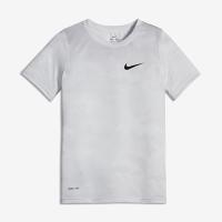 <ナイキ(NIKE)公式ストア> ナイキ Dri-FIT レジェンド ジュニア (ボーイズ) トレーニング Tシャツ AJ1085-100 ホワイト画像