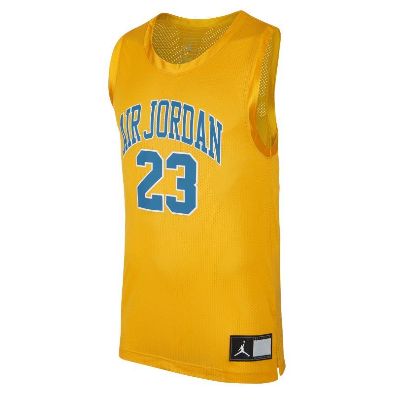 <ナイキ(NIKE)公式ストア>ジョーダン DNA ディストーテッド メンズ バスケットボールジャージー AJ1140-739 ゴールド