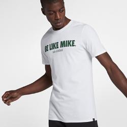 """Мужская футболка Jordan Sportswear """"Be Like Mike""""Мужская футболка Jordan Sportswear """"Be Like Mike"""" из прочного 100% хлопка с фирменными деталями обеспечивает комфорт на весь день.<br>"""