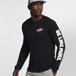 """Мужская футболка с длинным рукавом Jordan Sportswear """"Be Like Mike""""Мужская футболка с длинным рукавом Jordan Sportswear """"Be Like Mike"""" из прочного 100% хлопка с фирменными деталями обеспечивает комфорт на весь день.<br>"""