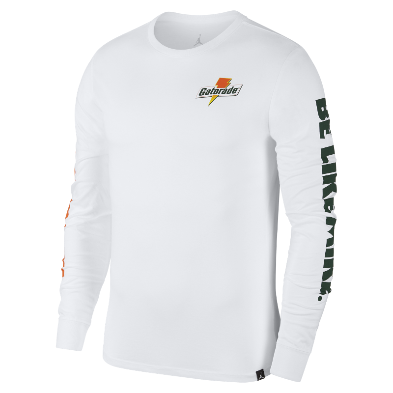 43fc92680275f5 Nike Jordan Sportswear Be Like Mike Men s Long-Sleeve T-Shirt Image