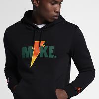 <ナイキ(NIKE)公式ストア> ジョーダン スポーツウェア ライク マイク フリース メンズパーカー AJ1173-010 ブラック画像