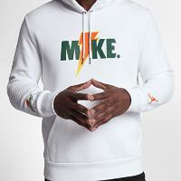 <ナイキ(NIKE)公式ストア> ジョーダン スポーツウェア ライク マイク フリース メンズパーカー AJ1173-100 ホワイト画像