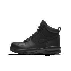 Ботинки для школьников Nike ManoaБотинки для школьников Nike Manoa из синтетической кожи обеспечивают поддержку и защиту во время походов и зимних прогулок. Прочная резиновая подметка с выступами создает превосходное сцепление, стабилизируя стопу на поверхностях разных типов.<br>