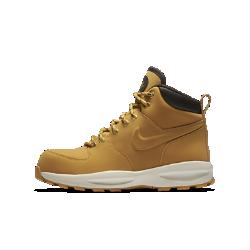 Ботинки для школьников Nike Manoa 17Ботинки для школьников Nike Manoa 17 из синтетической кожи обеспечивают поддержку и защиту во время походов и зимних прогулок. Прочная резиновая подошва с выступами создает превосходное сцепление, стабилизируя стопу на разных типах поверхности.<br>