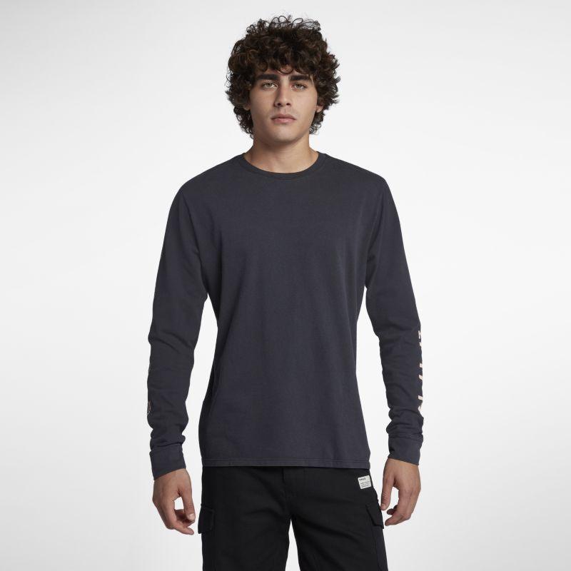 Nike Hurley Heavy Cool Summer Men's Long-Sleeve T-Shirt - Black Image