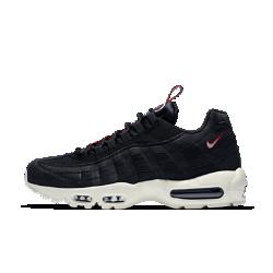 Мужские кроссовки Nike Air Max 95Мужские кроссовки Nike Air Max 95 — новая версия легендарной модели, впервые открывшей миру видимую вставку Air в передней части стопы. Верх модели из кожи и текстиля предстает в новых расцветках.<br>
