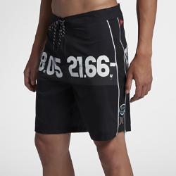 <ナイキ(NIKE)公式ストア>ハーレー JJF 4 パラレル シー メンズ 19インチ ボードショーツ AJ2042-010 ブラック 30日間返品無料 / Nike+メンバー送料無料
