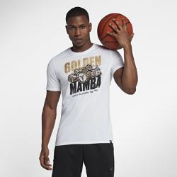 Мужская баскетбольная футболка Nike Dri-FIT KobeМужская баскетбольная футболка Nike Dri-FIT Kobe из комфортной влагоотводящей ткани создана в честь Коби Брайанта, известного как Black Mamba.<br>