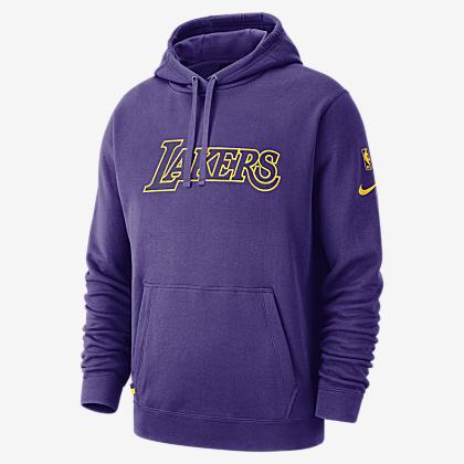 1e65de812bd Los Angeles Lakers Nike Men s Hooded Long-Sleeve NBA T-Shirt. Nike.com