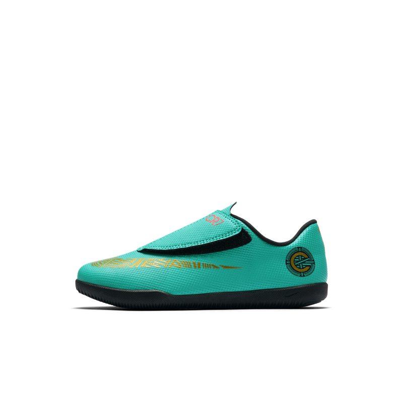Nike Jr. MercurialX Vapor XII Club CR7 IC Zaalvoetbalschoen voor peuters/kleuter <br/> 35.97 <br/> <a href='https://track.webgains.com/click.html?wgcampaignid=172061&amp;wgprogramid=6381&amp;product=1&amp;wglinkid=231777&amp;productname=Nike+Jr.+MercurialX+Vapor+XII+Club+CR7+IC+Zaalvoetbalschoen+voor+peuters%2Fkleuters+-+Groen&amp;wgtarget=https://www.nike.com/nl/t/jr-mercurialx-vapor-xii-club-cr7-ic-younger-indoor-court-football-shoe-BBSNvq/AJ3107-390' target='_blank'>Bekijk!</a>