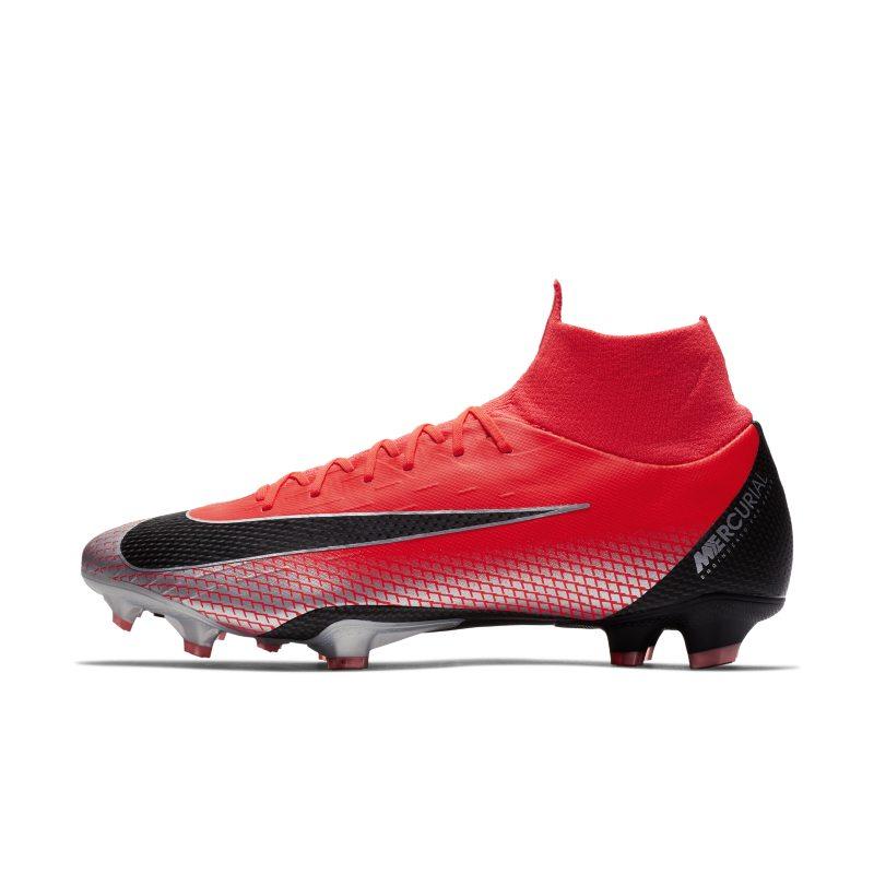 Nike Mercurial Superfly VI Pro CR7 Voetbalschoen (stevige ondergrond) - Rood <br/> 160.00 <br/> <a href='https://track.webgains.com/click.html?wgcampaignid=172061&amp;wgprogramid=6381&amp;product=1&amp;wglinkid=231777&amp;productname=Nike+Mercurial+Superfly+VI+Pro+CR7+Voetbalschoen+%28stevige+ondergrond%29+-+Rood&amp;wgtarget=https://www.nike.com/nl/t/mercurial-superfly-vi-pro-cr7-football-boot-tjrshk/AJ3550-600' target='_blank'>Bekijk!</a>