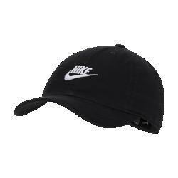 <ナイキ(NIKE)公式ストア>ナイキ ヘリテージ86 キッズ アジャスタブル キャップ AJ3651-010 ブラック★30日間返品無料 / Nike+メンバー送料無料!画像