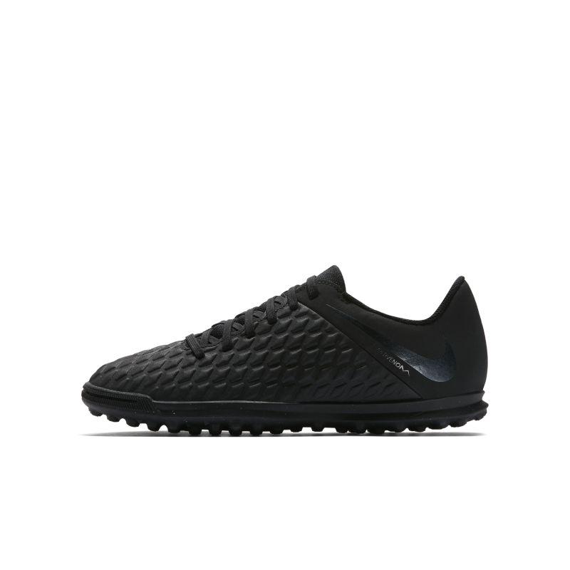Nike Jr. HypervenomX Phantom III Club TF Younger/Older Kids'Artificial-Turf Football Shoe - Black Image