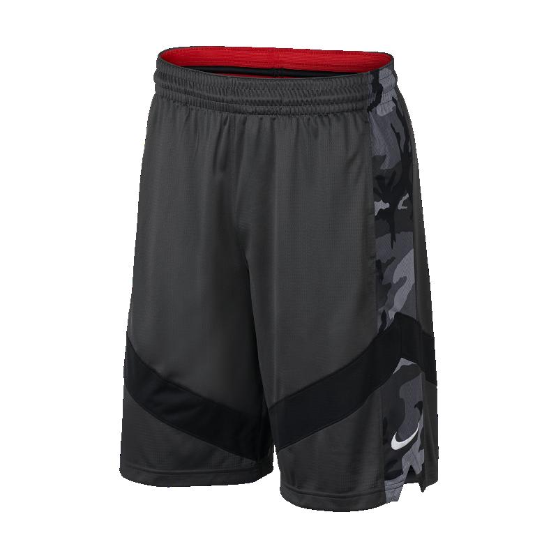 <ナイキ(NIKE)公式ストア>ナイキ Dri-FIT コートライン メンズ プリンテッド バスケットボールショートパンツ AJ3907-060 ブラック