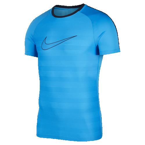 ナイキ Dri-FIT アカデミー メンズ ショートスリーブ サッカートップ AJ4223-469 ブルー <セール商品がさらに20%OFF!5/8まで>
