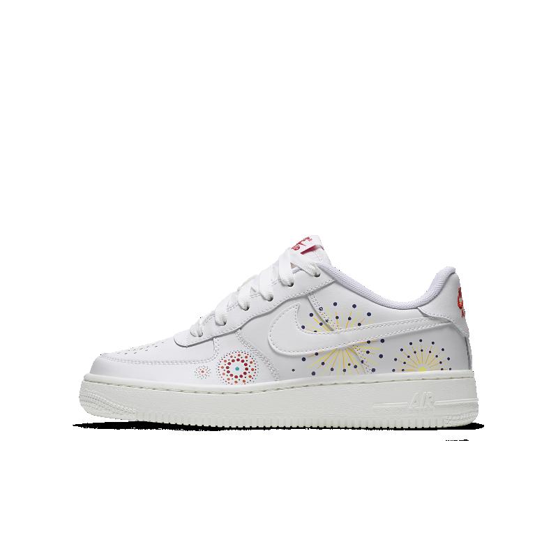 0b628c8061 Nike Air Force 1 Pinnacle QS Older Kids  Shoe - White Image