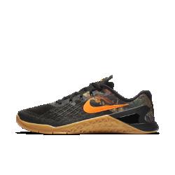 Мужские кроссовки для тренинга Nike Metcon 3 RealtreeМужские кроссовки для тренинга Nike Metcon 3 Realtree созданы для самых интенсивных тренировок — от упражнений на канате и у стены до бега на короткие дистанции и поднятия веса.<br>