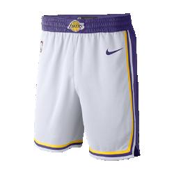 <ナイキ(NIKE)公式ストア>ロサンゼルス レイカーズ アソシエーション エディション スウィングマン メンズ ナイキ NBA ショートパンツ AJ5616-100 ホワイト画像