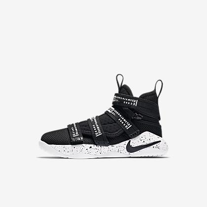 44a15f44fd1 LeBron Soldier 12 SFG Little Kids Shoe. Nike.com