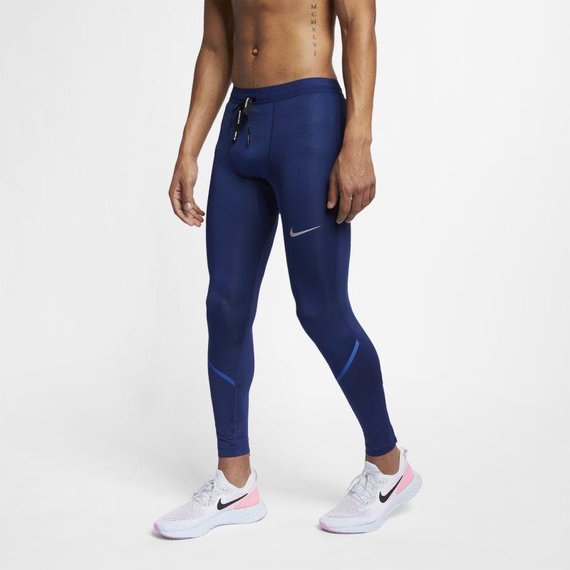 Nike Power Tech Erkek Koşu Taytı  AJ8000-492 -  Mavi L Beden Ürün Resmi