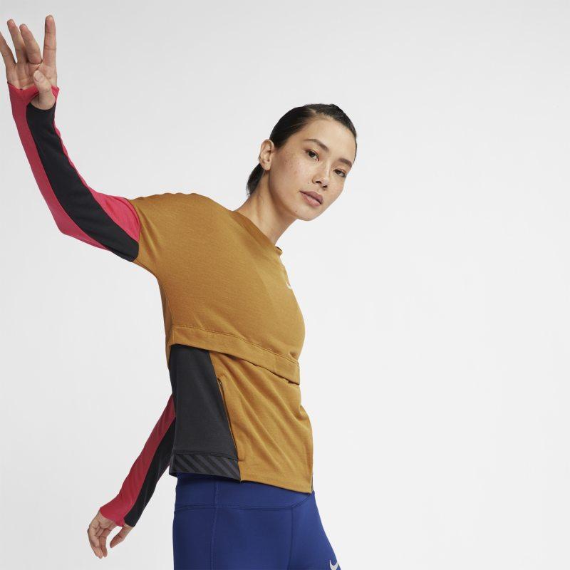 Nike Therma Sphere Kadın Koşu Üstü  AJ8671-790 -  Kahverengi L Beden Ürün Resmi