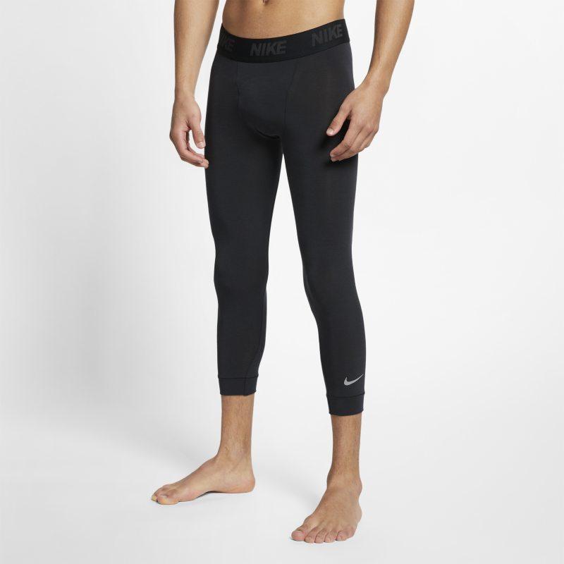 Nike Dri-FIT Mallas de entrenamiento de yoga de 3/4 - Hombre - Negro