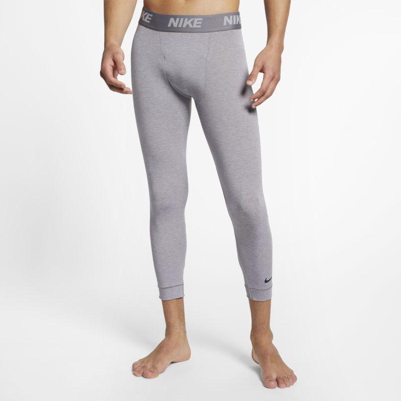 Nike Dri-FIT Mallas de entrenamiento de yoga de 3/4 - Hombre - Gris