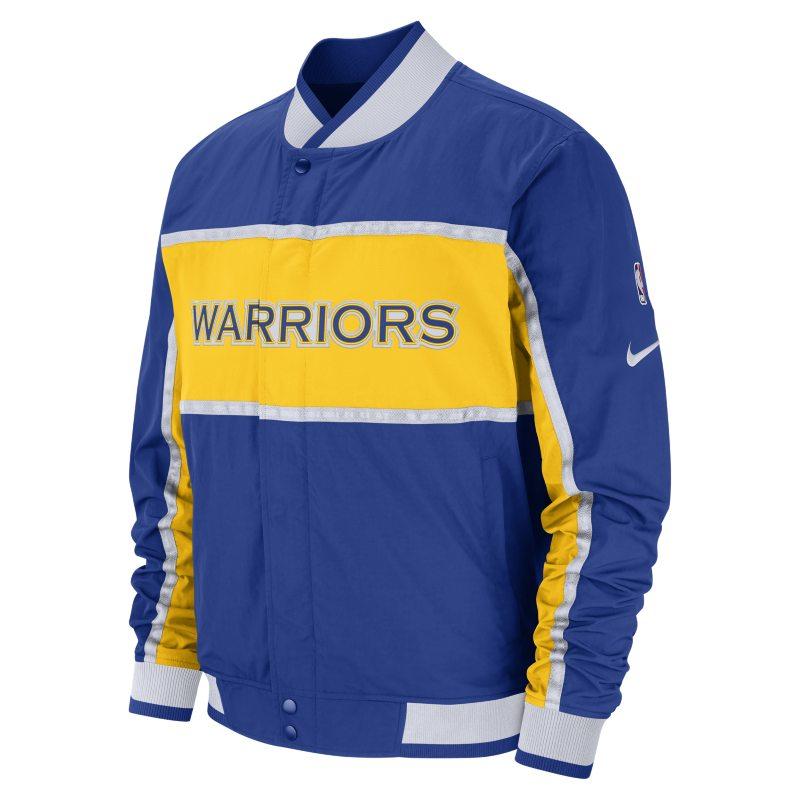 Golden State Warriors Nike Courtside NBA Erkek Ceketi  AJ9151-495 -  Mavi 2XL Beden Ürün Resmi
