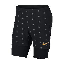 <ナイキ(NIKE)公式ストア>ナイキコート フレックス エース メンズ テニスショートパンツ AO0302-010 ブラック ★30日間返品無料 / Nike+メンバー送料無料!画像
