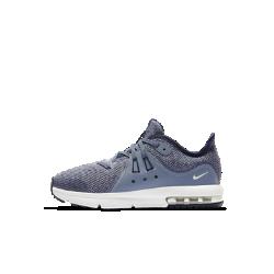 Кроссовки для дошкольников Nike Air Max Sequent 3Кроссовки для дошкольников Nike Air Max Sequent сочетают вставку Max Air в области пятки, мягкий амортизирующий пеноматериал и желобки в подошве для мягкости и комфорта на весь день.<br>