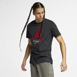 <ナイキ(NIKE)公式ストア>ジョーダン ジャンプマン フライト メンズ Tシャツ AO0664-010 ブラック ★30日間返品無料 / Nike+メンバー送料無料!画像