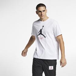 <ナイキ(NIKE)公式ストア>ジョーダン ジャンプマン フライト メンズ Tシャツ AO0664-100 ホワイト ★30日間返品無料 / Nike+メンバー送料無料!画像