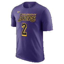 <ナイキ(NIKE)公式ストア>ロンゾ ボール ロサンゼルス レイカーズ シティ エディション ナイキ Dri-FIT メンズ NBA Tシャツ AO0897-547 パープル画像
