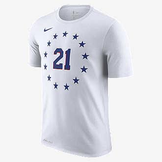 Joel Embiid Philadelphia 76ers City Edition Nike Dri-FIT c6395ba04