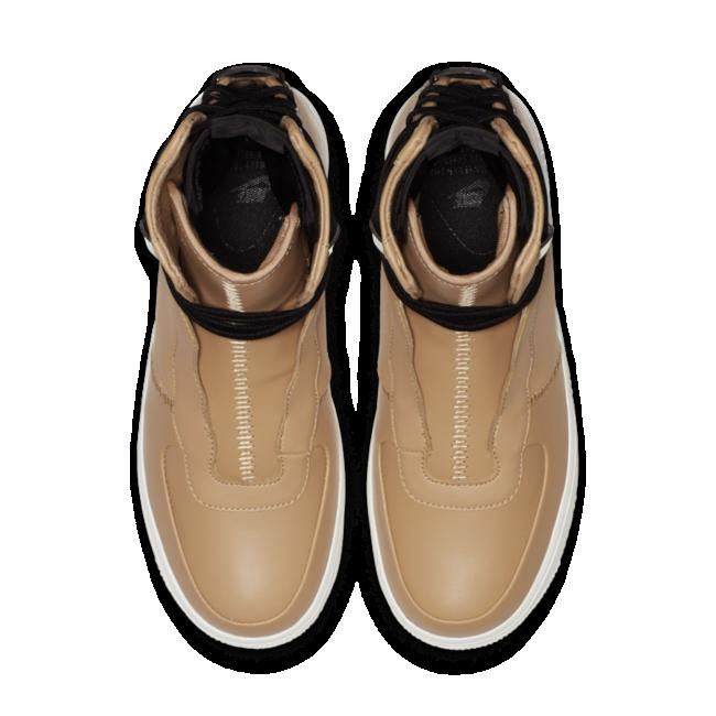 Nike Air Force 1 damessneaker bruin