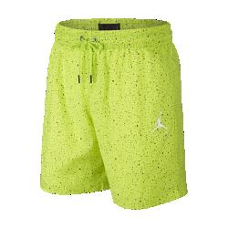 <ナイキ(NIKE)公式ストア>ジョーダン ジャンプマン セメント プールサイド メンズ 18cm ショートパンツ AO2842-389 グリーン画像