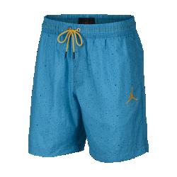 <ナイキ(NIKE)公式ストア>ジョーダン ジャンプマン セメント プールサイド メンズ 18cm ショートパンツ AO2842-433 ブルー画像