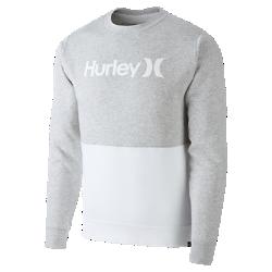 Женская флисовая рубашка с длинным рукавом Hurley One And Only BlockedУютная женская флисовая рубашка с длинным рукавом Hurley One And Only Blocked из мягкой и теплой ткани обеспечивает комфорт в прохладную погоду. Простая цветовая гамма позволяет сочетать модель с любимыми джинсами или тайтсами.<br>