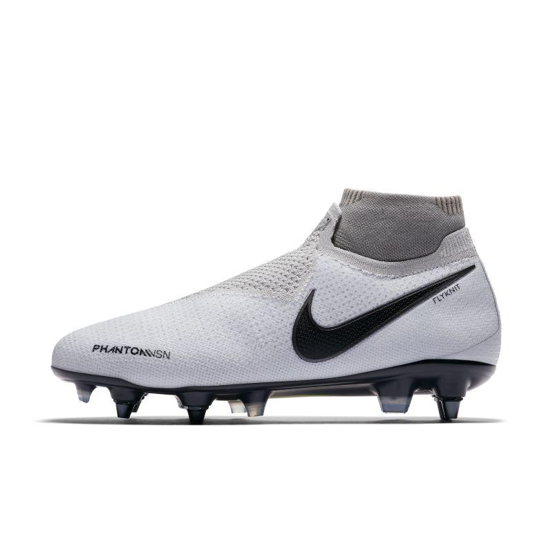 Nike Phantom Vision Elite Dynamic Fit Anti-Clog SG-PRO Football Boot - Silver Image