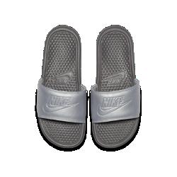 40%OFF!<ナイキ(NIKE)公式ストア>ナイキ ベナッシ Just Do It ウィメンズサンダル AO4642-001 シルバー 30日間返品無料 / Nike+メンバー送料無料画像