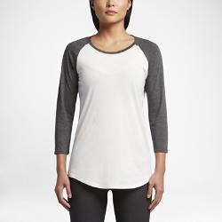 Женская футболка с рукавом 3/4 Hurley Staple Perfect RaglanЖенская футболка с рукавом 3/4 Hurley Staple Perfect Raglan из мягкого и прочного смесового хлопка обеспечивает комфорт на каждый день.<br>