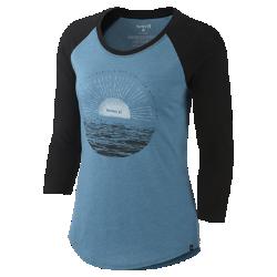 Женская футболка с рукавом 3/4 Hurley Sunrise Perfect RaglanЖенская футболка с рукавом 3/4 Hurley Sunrise Perfect Raglan — идеальная модель для похода на утреннее занятие серфингом, вечерней прогулки домой и любой другой ситуации.<br>