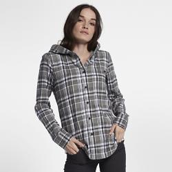 Женская футболка с длинным рукавом Hurley Wilson HoodedЖенская футболка с длинным рукавом Hurley Wilson Hooded создана на основе классической рубашки на пуговицах с принтом в клетку и дополнена уютным капюшоном.<br>
