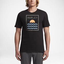 Мужская футболка Hurley SundownМужская футболка Hurley Sundown обеспечивает комфорт на протяжении всего дня, даже после вечерних занятий серфингом.<br>