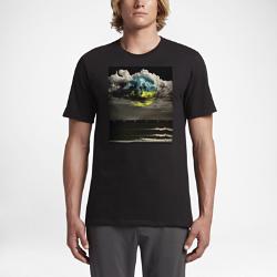 Мужская футболка Hurley VortexМужская футболка Hurley Vortex из мягкого комфортного хлопка дополнена абстрактным принтом в технике трафаретной печати.<br>