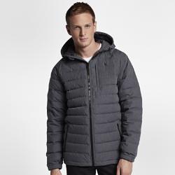 Мужская куртка Hurley Protect Down ZipМужская куртка Hurley Protect Down Zip с легким пуховым наполнителем обеспечивает непревзойденную защиту от холода. Водоотталкивающее покрытие позволяет сохранять комфортв дождь. Капюшон с утягивающими шнурками защищает от холодного ветра.<br>